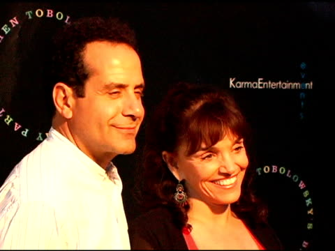 Tony Shalhoub and Brooke Adams at the Birthday Party and DVD Release for Stephen Tobolowsky at Aqua in Beverly Hills California on May 30 2006