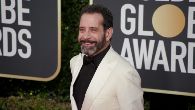 Tony Shalhoub at 76th Annual Golden Globe Awards Arrivals in Los Angeles CA 1/6/19 4K Footage