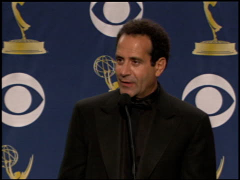 Tony Shalhoub at the 2005 Emmy Awards press room at the Shrine Auditorium in Los Angeles California on September 18 2005