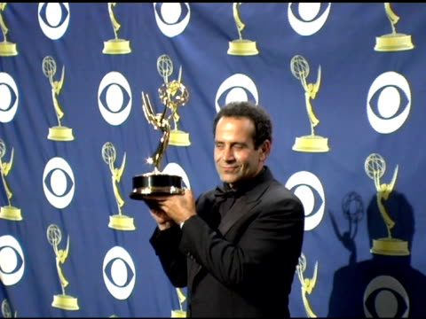Tony Shalhoub at the 2005 Emmy Awards press room at the Shrine Auditorium in Los Angeles California on September 19 2005