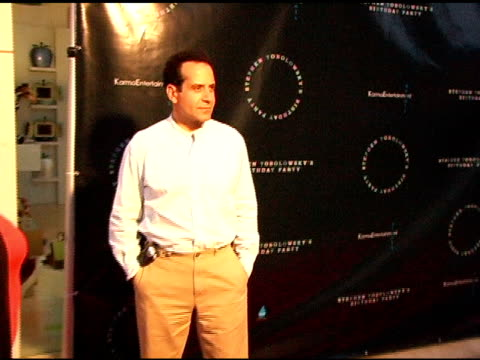 Tony Shalhoub at the Birthday Party and DVD Release for Stephen Tobolowsky at Aqua in Beverly Hills California on May 30 2006