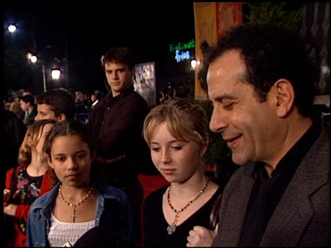 tony shalhoub at the 'harry potter and the chamber of secrets' premiere on november 14 2002 - potter stock videos & royalty-free footage