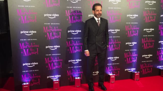 Tony Shalhoub attends 'The Marvelous Mrs Maisel European Premiere' on December 3 2018 in Milan Italy