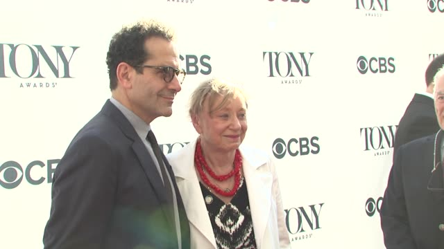Tony Shalhoub Jane Greenwood at 2014 Tony Honors Cocktail Party at Paramount Hotel on June 02 2014 in New York City
