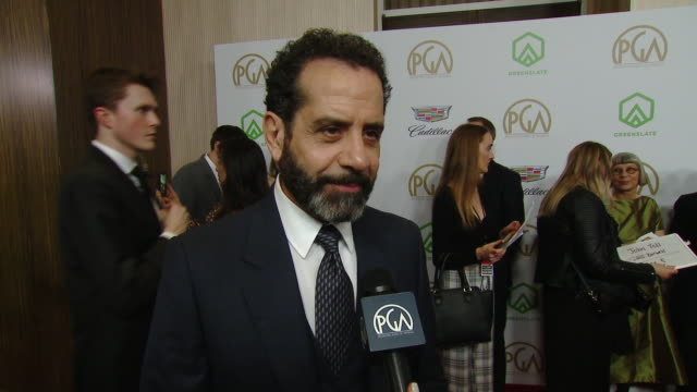 Tony Shalhoub on presenting at the PGAs on why it was important for producers to be recognized for their hard work on what's important about the...