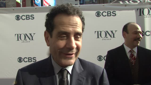 INTERVIEW Tony Shalhoub on the Tony's and working with such magnificent actors and people at 2014 Tony Honors Cocktail Party at Paramount Hotel on...