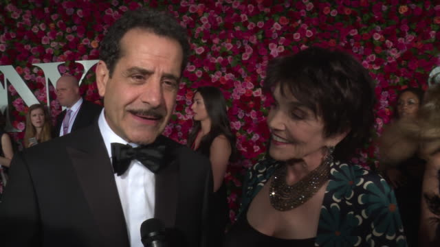 INTERVIEW Tony Shalhoub on what he's excited about tonight at 2018 Tony Awards Red Carpet at Radio City Music Hall on June 10 2018 in New York City