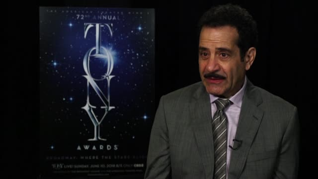 INTERVIEW Tony Shalhoub on where he was when he found out about his nomination and his favorite Broadway performance at the 2018 Tony Awards Meet The...