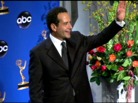 Tony Shalhoub presenter of Outstanding Writing for a Variety Music or Comedy Program at the 2004 Primetime Emmy Awards press room at the Shrine...