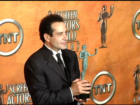 Tony Shalhoub winner for Outstanding Actor in a Drama Series for 'Monk at the 2005 Screen Actors Guild SAG Awards Photo Room at the Shrine Auditorium...