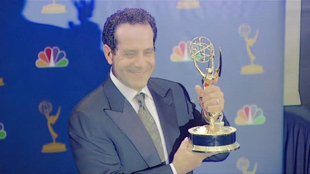 "Tony Shalhoub winner Outstanding Lead Actor in a Comedy Series for ""Monk"" at the 2006 Emmy Awards press room at the Shrine Auditorium in Los Angeles..."