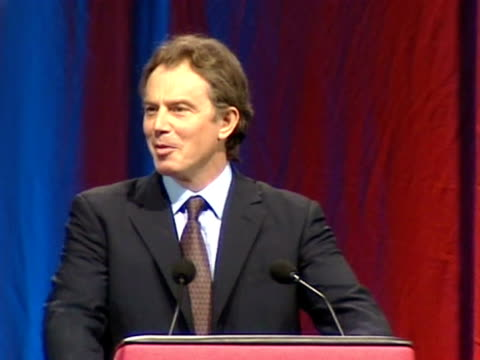 tony-blair womens-institute-annual-conference wi-annual-conferences podiums prime-ministers conferences speeches - bbc archives bildbanksvideor och videomaterial från bakom kulisserna