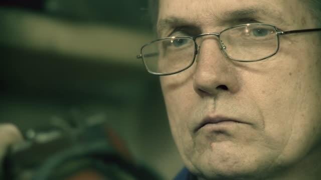 hd: toolmaker measuring the object - vernier calliper stock videos & royalty-free footage
