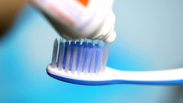 toothbrush, close up - toothbrush stock videos & royalty-free footage