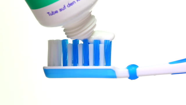 toothpaste - 2 shots - plaque bacteria stock videos & royalty-free footage