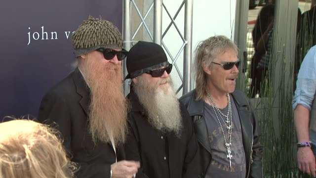 ZZ Top at the The John Varvatos 7th Annual Stuart House Benefit at Los Angeles CA