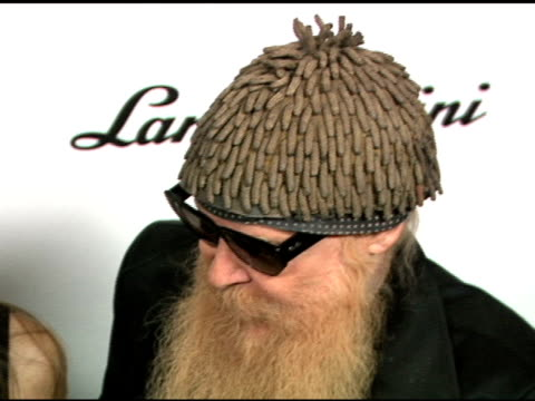 ZZ Top at the Worldwide Special Debuting Party in Honor of Lamborghini's Newest Top Secret Vehicle at the Museum of Television and Radio in Beverly...