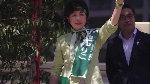 Top contenders for the Tokyo governor elections are on the campaign trail in Shibuya district as the city votes for a new governor who will have to...