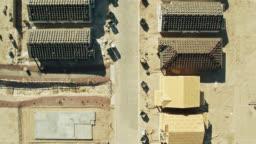 Top Down Drone Shot of Growing Suburban Development in Arizona
