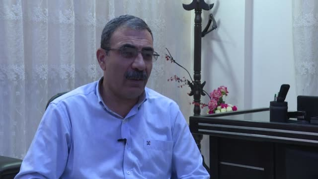 top kurdish political official in northeast syria says that washington could stop any attack with a single word but it seems they don't want to... - stop single word stock videos & royalty-free footage