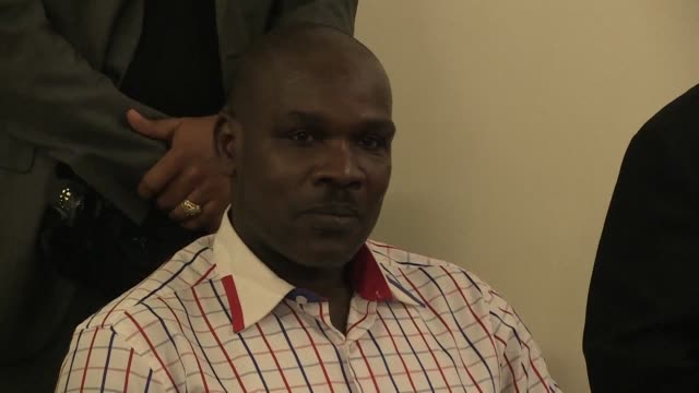 top level rwandan genocide suspect ladislas ntaganzwa has been flown from kinshasa to kigali to face trial three months after his arrest in the... - legal trial stock videos & royalty-free footage