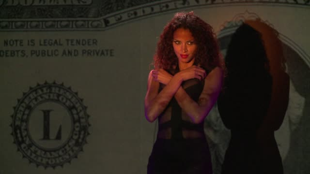 Top model Noemie Lenoir is the new star at the Crazy Horse erotic cabaret in Paris CLEAN Crazy Horse features model Noemie on May 29 2013 in Paris...