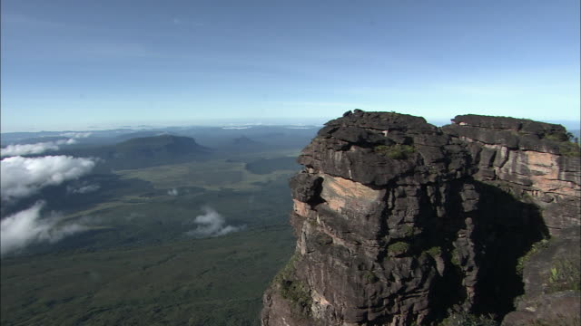 Top Of Auyantepui In Guiana Highlands
