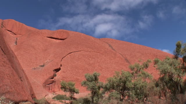 ms top of ayers rock (uluru), uluru-kata tjuta national park, northern territory, australia - エアーズロック点の映像素材/bロール