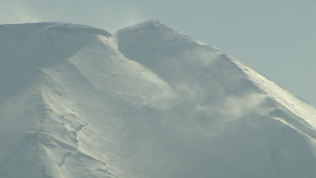 CU Top of Mount Fuji, Fuji Hakone National Park, Kanagawa Prefecture, Honshu Island, Japan