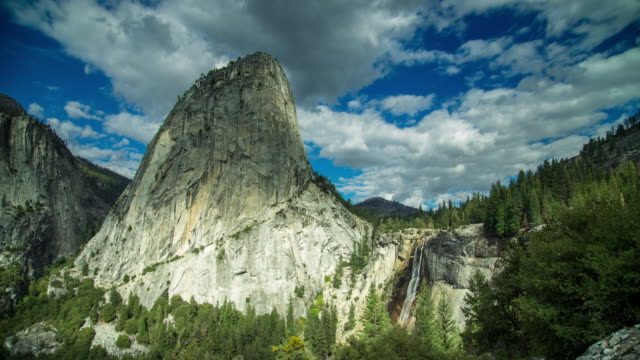 top of yosemite valley - time lapse - yosemite national park stock videos & royalty-free footage