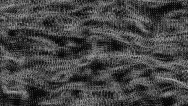 top view network loop connected water waves that are moving freely - squiggle line stock videos and b-roll footage