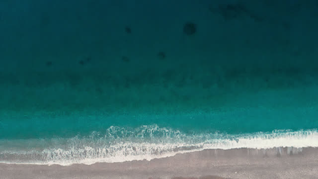 top view of a paradise beach - byakkaya stock videos and b-roll footage