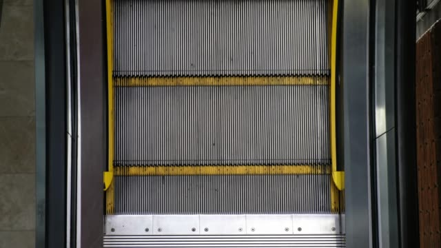Top view of an elevator