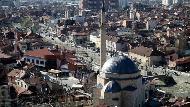 Top view of Prizren city