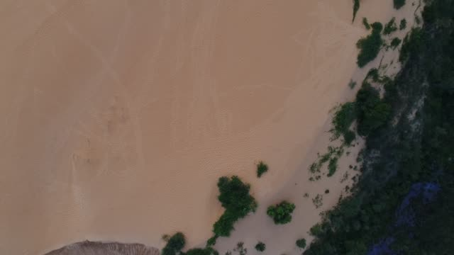 top view of sand dunes in jalapão - cerrado stock videos & royalty-free footage