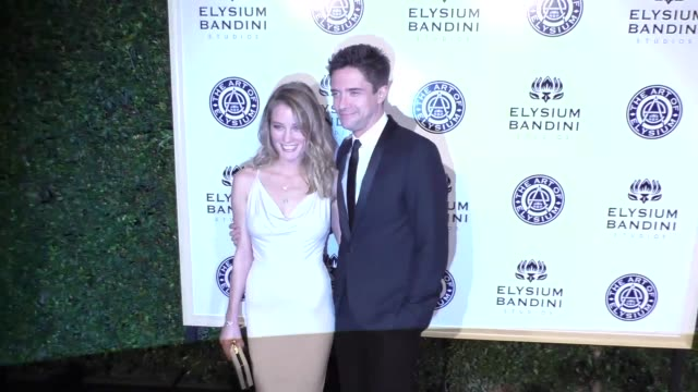 Topher Grace and Ashley Hinshaw at The Art of Elysium Presents Stevie Wonder's HEAVEN Celebrating the 10th Anniversary at Red Studios on January 07...
