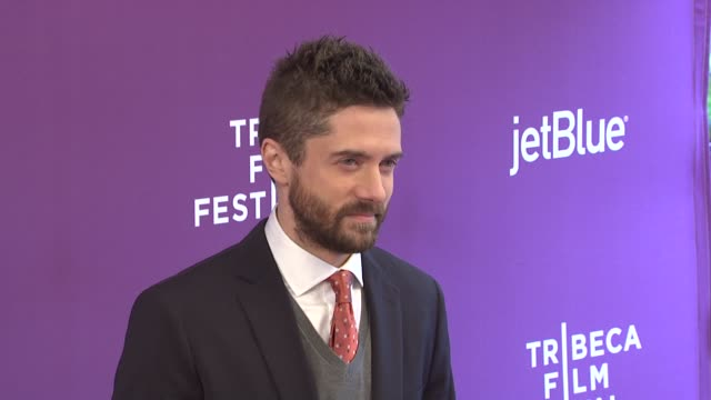 "topher grace at 2012 tribeca film festival - ""giant mechanical man"" premiere at sva theater on april 23, 2012 in new york, new york - topher grace stock videos & royalty-free footage"
