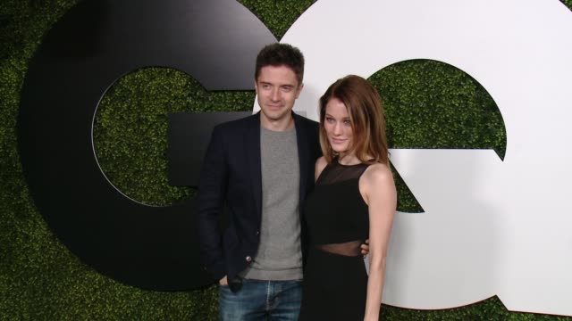 topher grace at gq 20th anniversary men of the year party in los angeles, ca 12/3/15 - topher grace stock videos & royalty-free footage