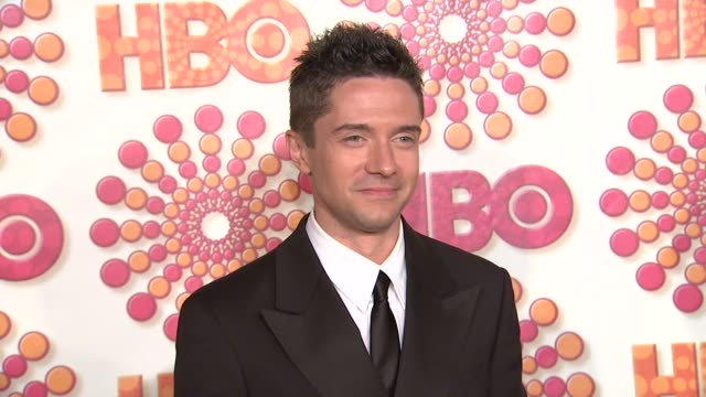 topher grace at the hbo's annual emmy awards post award reception at los angeles ca - topher grace stock videos and b-roll footage