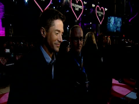 topher grace at the valentine's day european premiere at london england. - topher grace stock videos & royalty-free footage