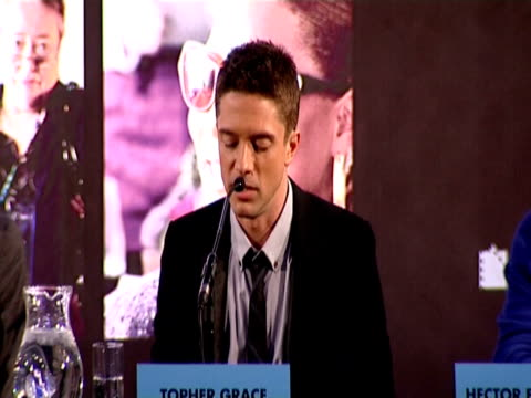 topher grace talks on identifying with his character in the film, he jokes about being all to stressful on valentines so he leaves town for the day.... - topher grace stock videos & royalty-free footage