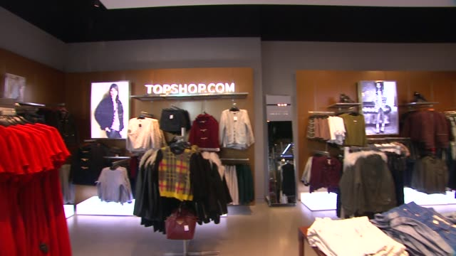 ATMOSPHERE Topshop Celebrates the Holidays at The Grove with a Special Performance by Natalia Kills on 11/02/13 in Los Angeles CA