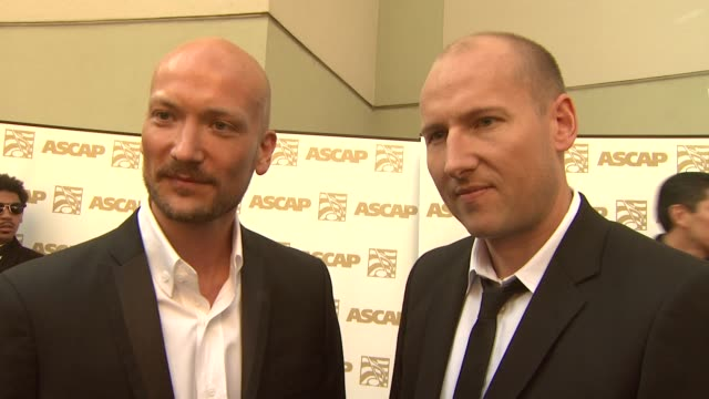 vidéos et rushes de tor hermansen and mikkel eriksen, aka 'stargate', on their award, the songs they wrote for ne-yo, chris brown, rihanna at the 26th annual ascap pop... - ascap