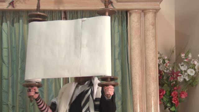 torah lifting - torah stock videos and b-roll footage