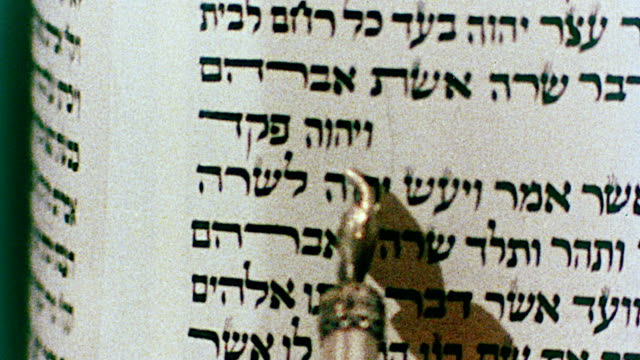 1978 torah reading - judaism stock videos & royalty-free footage