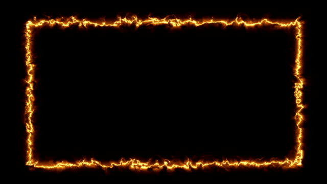 Torch -  Fire / Energy Style Frame