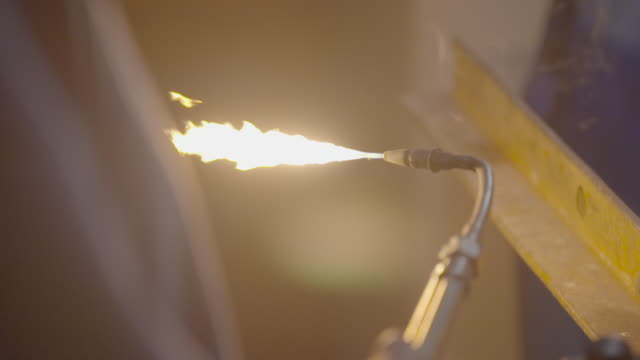 torch striker lighting welding torch - metal worker stock videos and b-roll footage