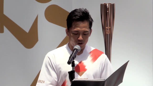 torchbearers for the 2020 tokyo olympics will pass through all 47 prefectures across japan over 121 days that will include areas devastated by... - olympic torch stock videos & royalty-free footage