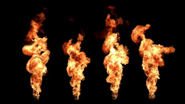 torchlights ファイアウォール - 炎点の映像素材/bロール