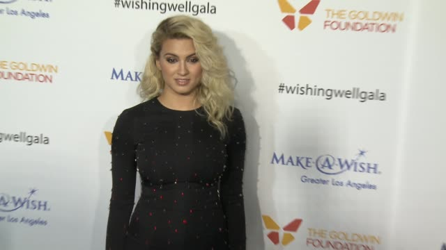 tori kelly at 4th annual wishing well winter gala presented by makeawish greater los angeles in los angeles ca - wishing well stock videos & royalty-free footage
